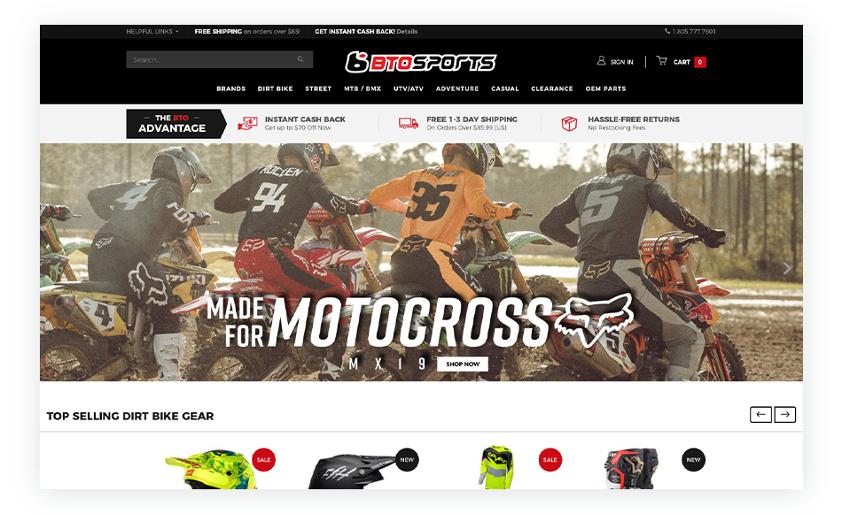 Motorcycle Essentials from BTOSports.com