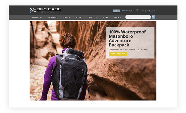 Waterproof Device Protectors from DryCase.com