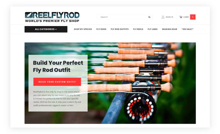Fly Fishing Equipment from reelflyrod.com