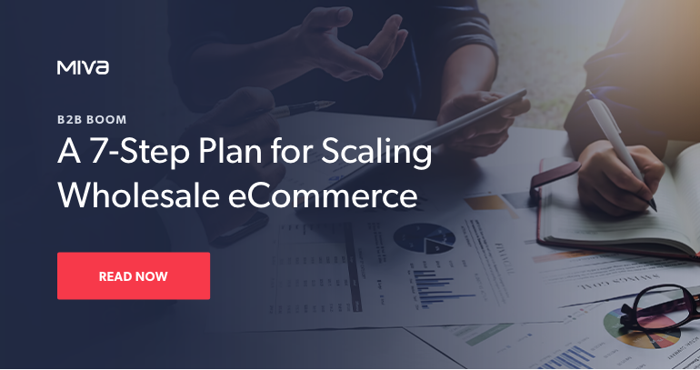 Get a 7-step plan for scaling your wholesale eCommerce.