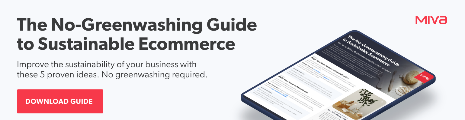 The No-Greenwashing Guide to Sustainable Ecommerce | Free Guide