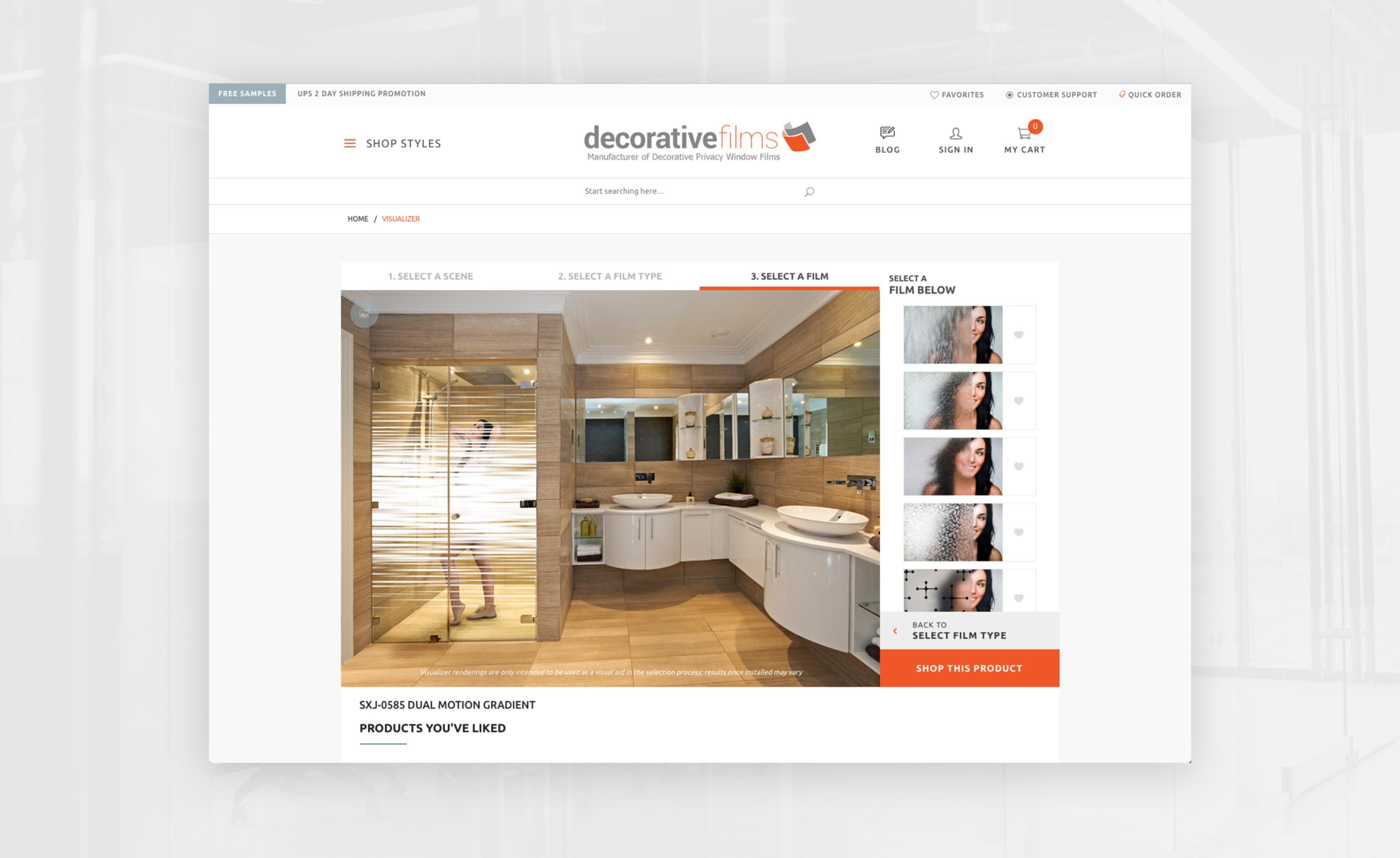 Decorative Films website