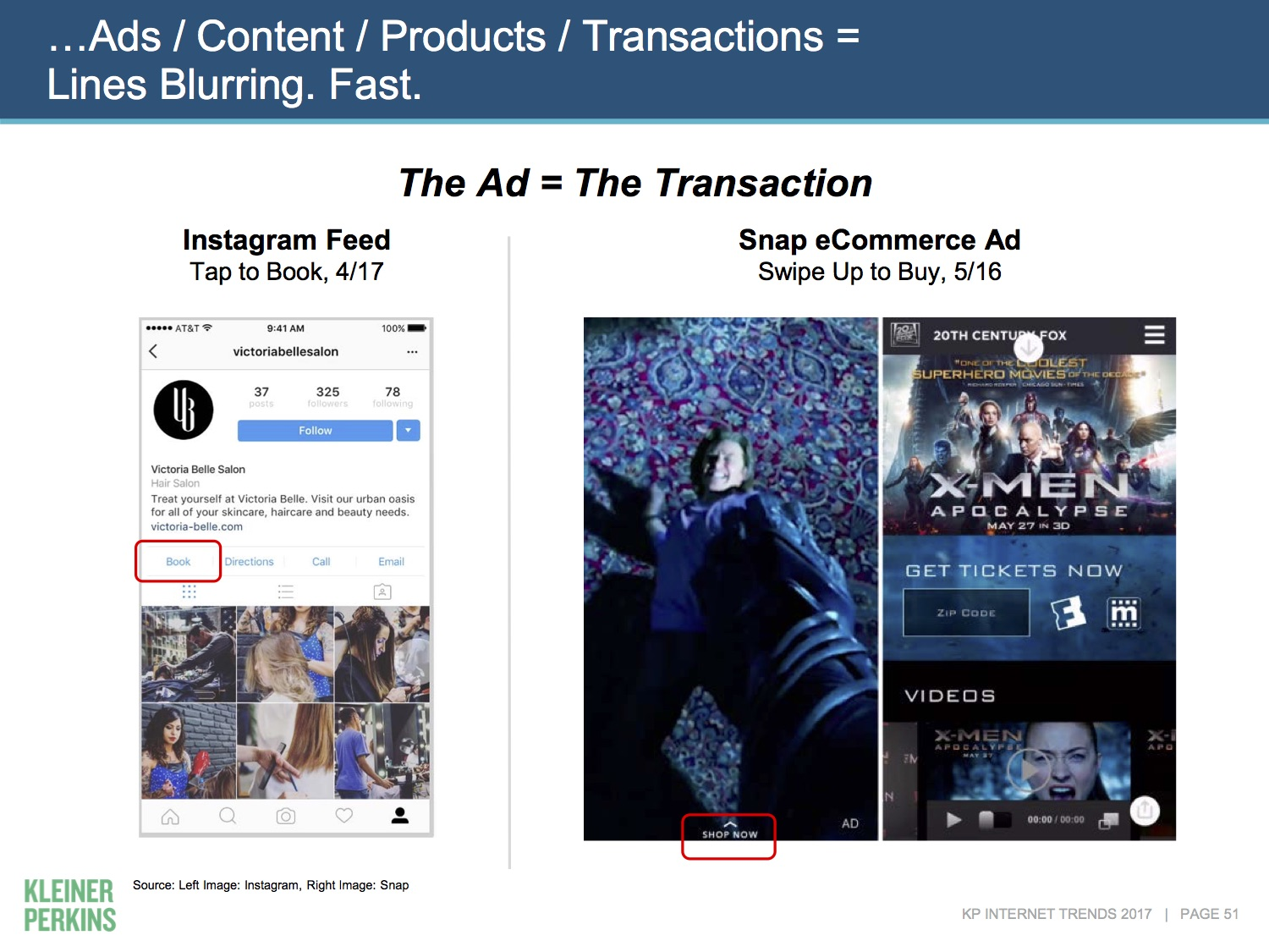 Image showing different ads.