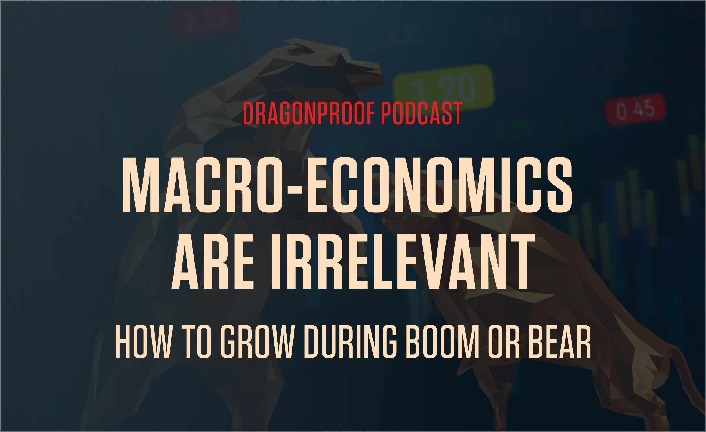 Macro-Economics Are Irrelevant   How to Grow During Boom or Bear