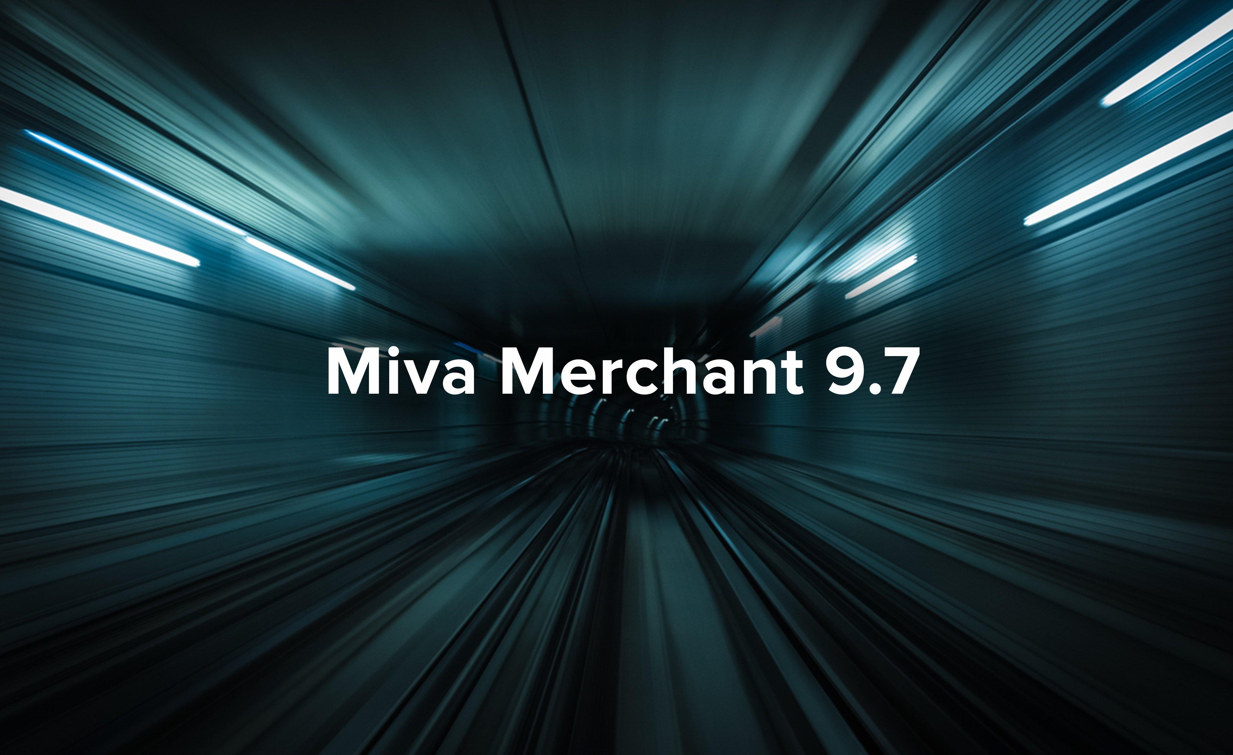 Miva Merchant 9.7