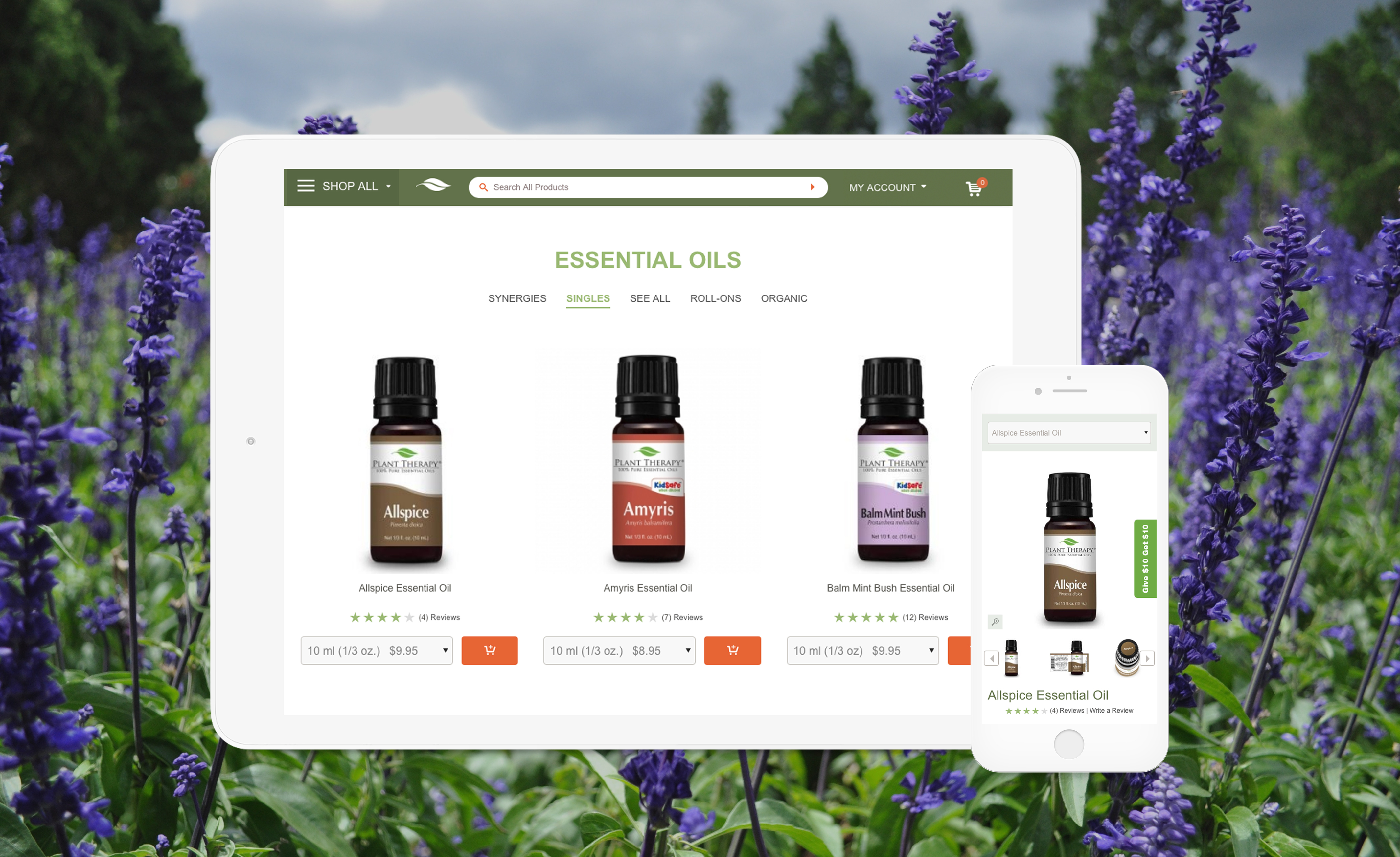 Miva client Plant Therapy ecommerce website