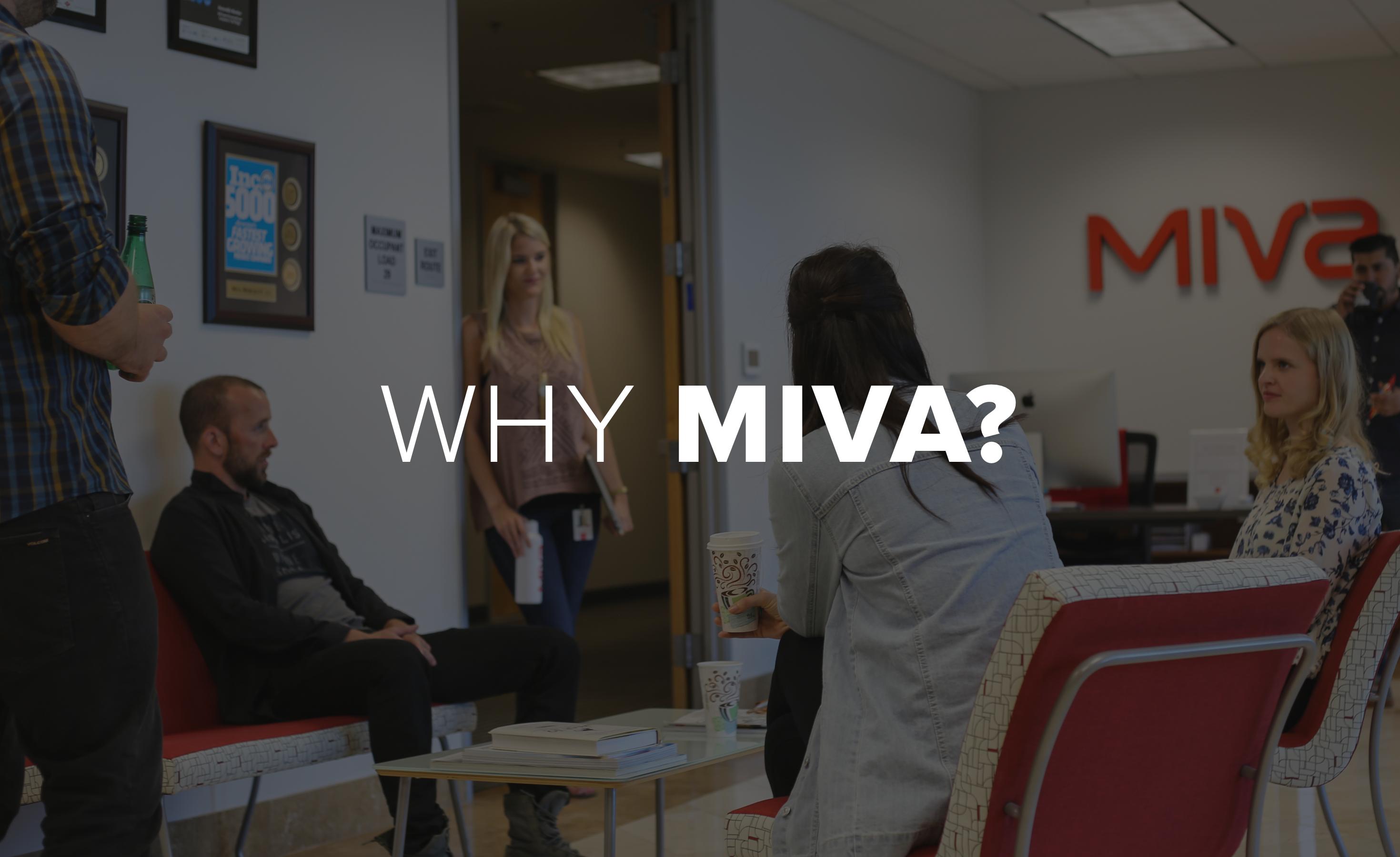 Why Miva video testimonials