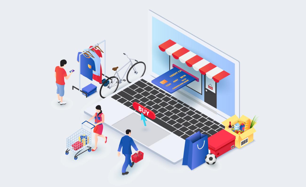 illustration of wholesale ecommerce needs